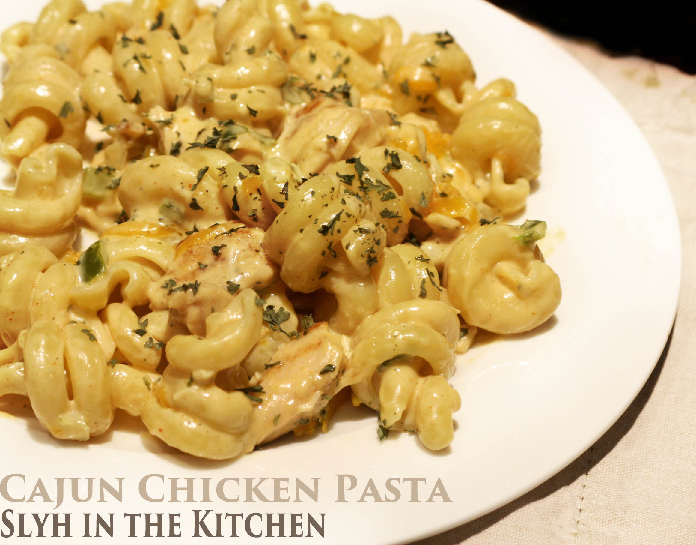 Cajun Chicken Pasta | Slyh in the Kitchen