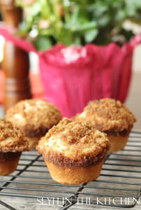 Baked Banana Muffins on Cooling rack