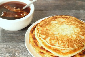 Pancakes and Bacon Infuse Syrup