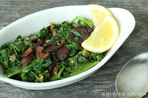 Sauted Spinach 2 2