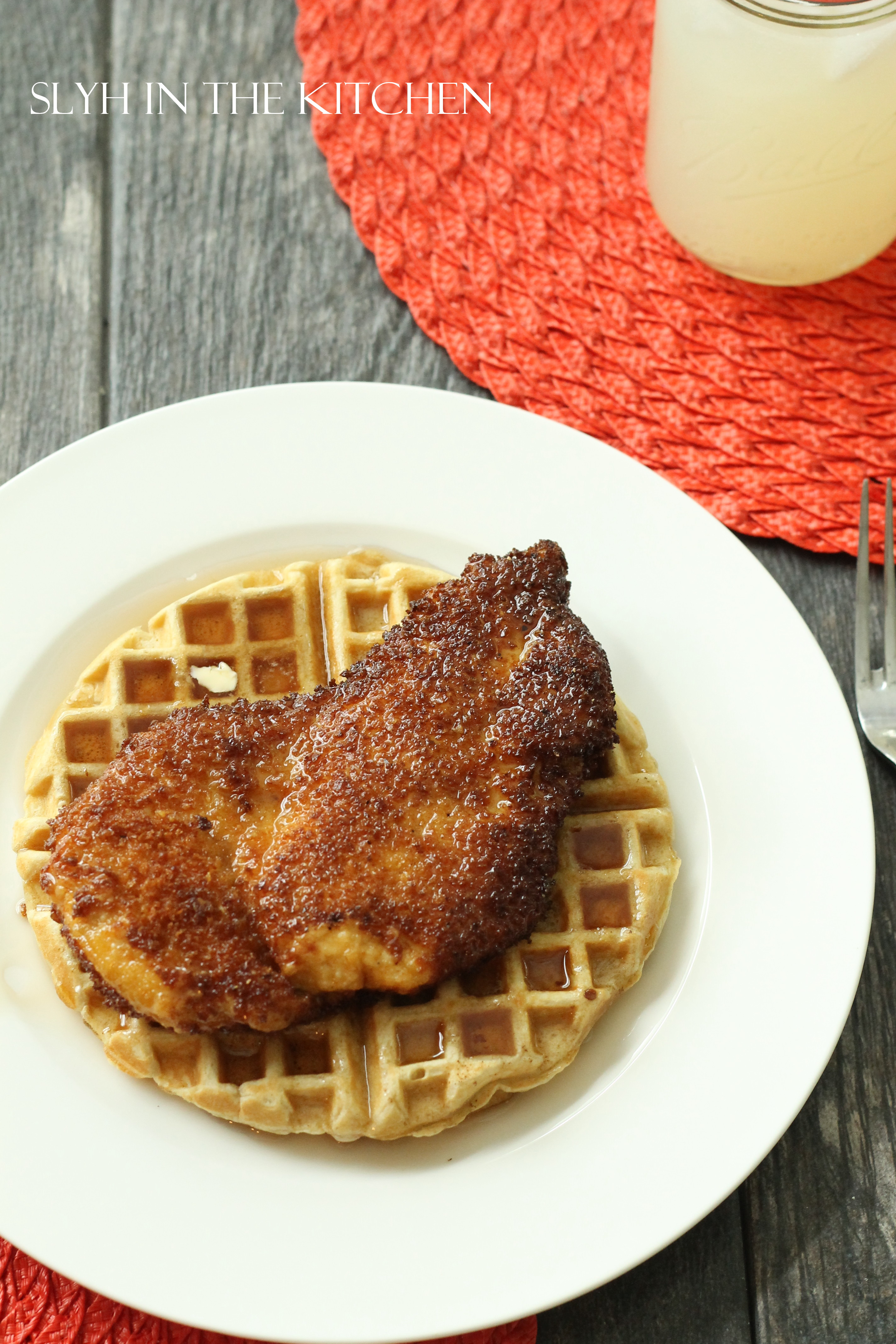 Chicken And Waffles Slyh In The Kitchen