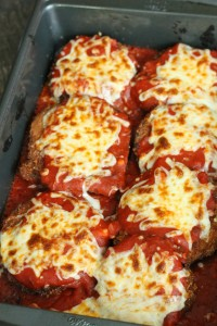 Broiled Eggplant parm