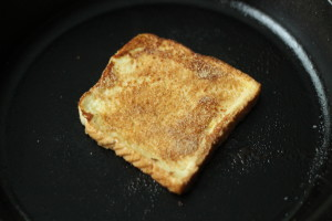 Cinnamon Sugar on French Toast