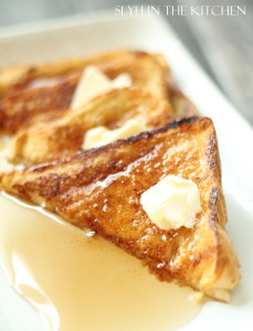 Double Toasted French Toast Cover