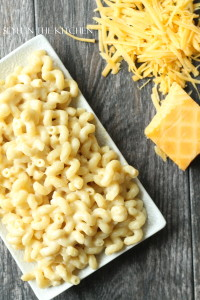 Smoked Macaroni and cheese