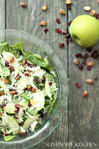 Spinach Apple Salad 2