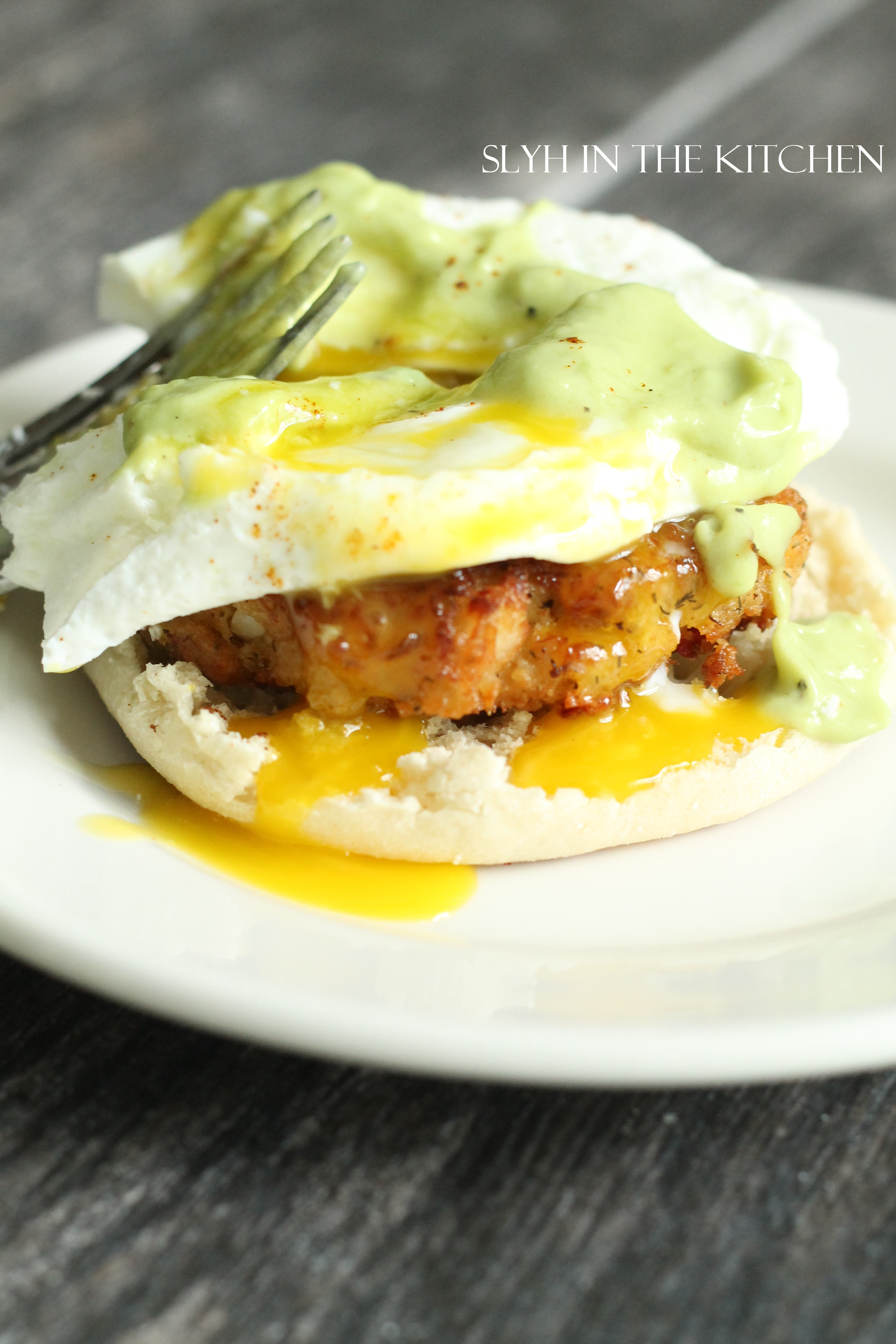 Crab Cake Eggs Benedict Slyh In The Kitchen
