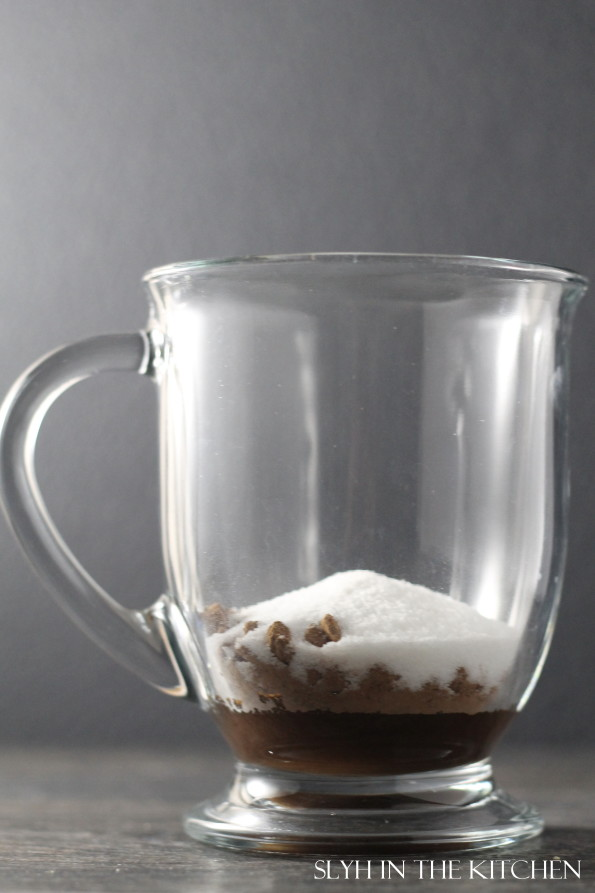 Cocoa Ingredients in Mug