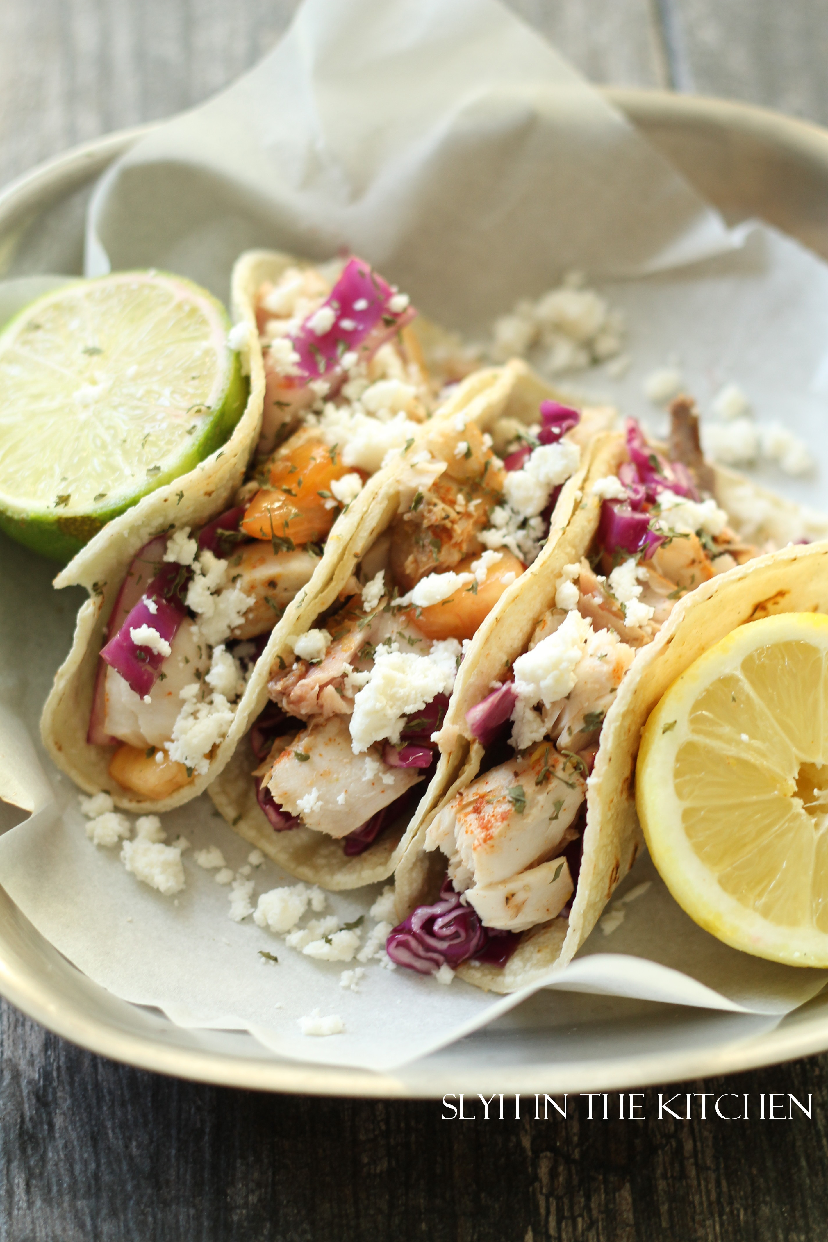 Mahi Mahi Fish Tacos Slyh In The Kitchen