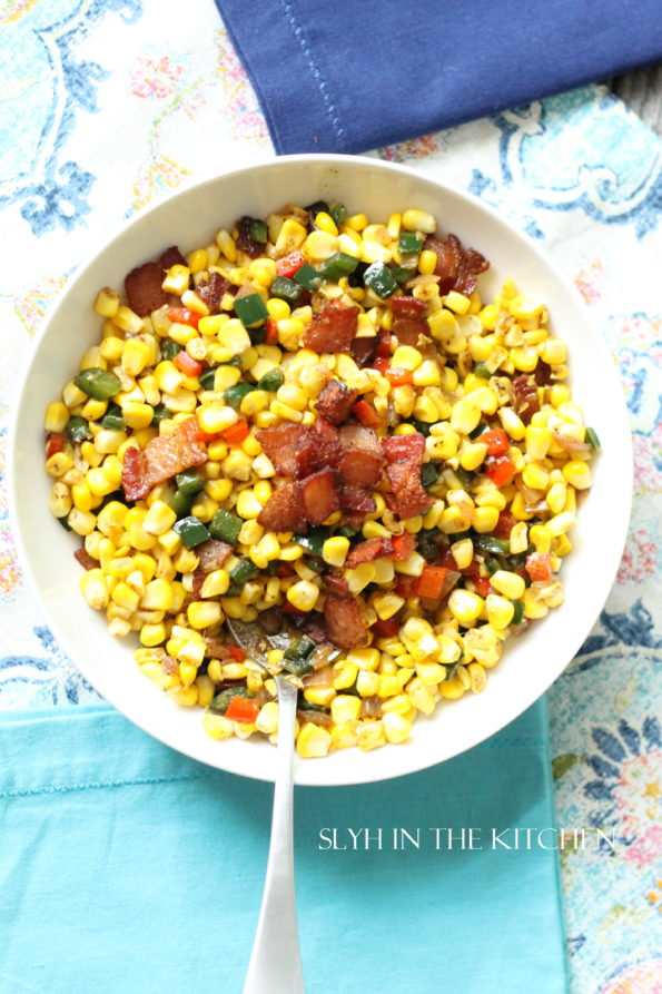Spicy Bacon and Corn Fiesta