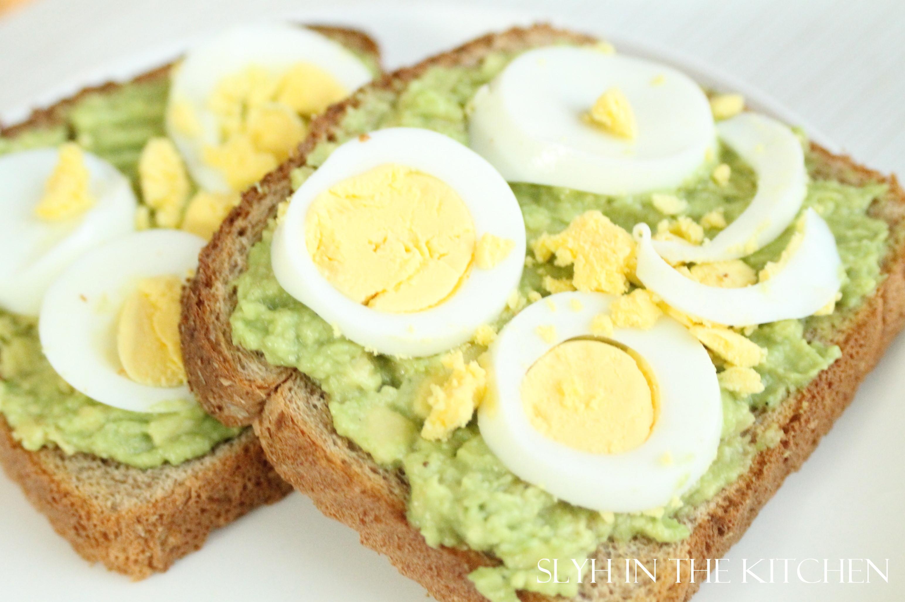 Avocado Egg Toast Slyh In The Kitchen