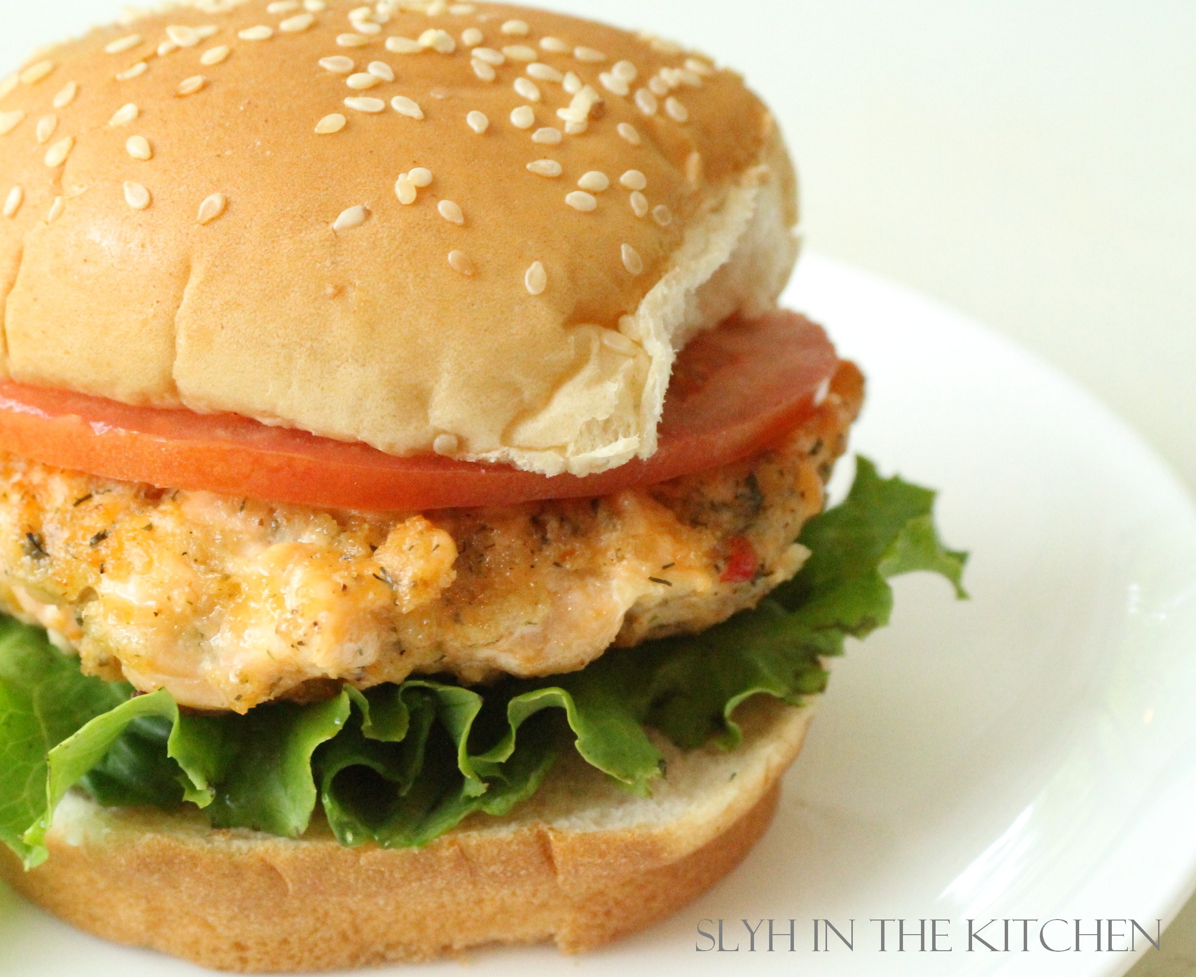 salmon burgers slyh in the kitchen