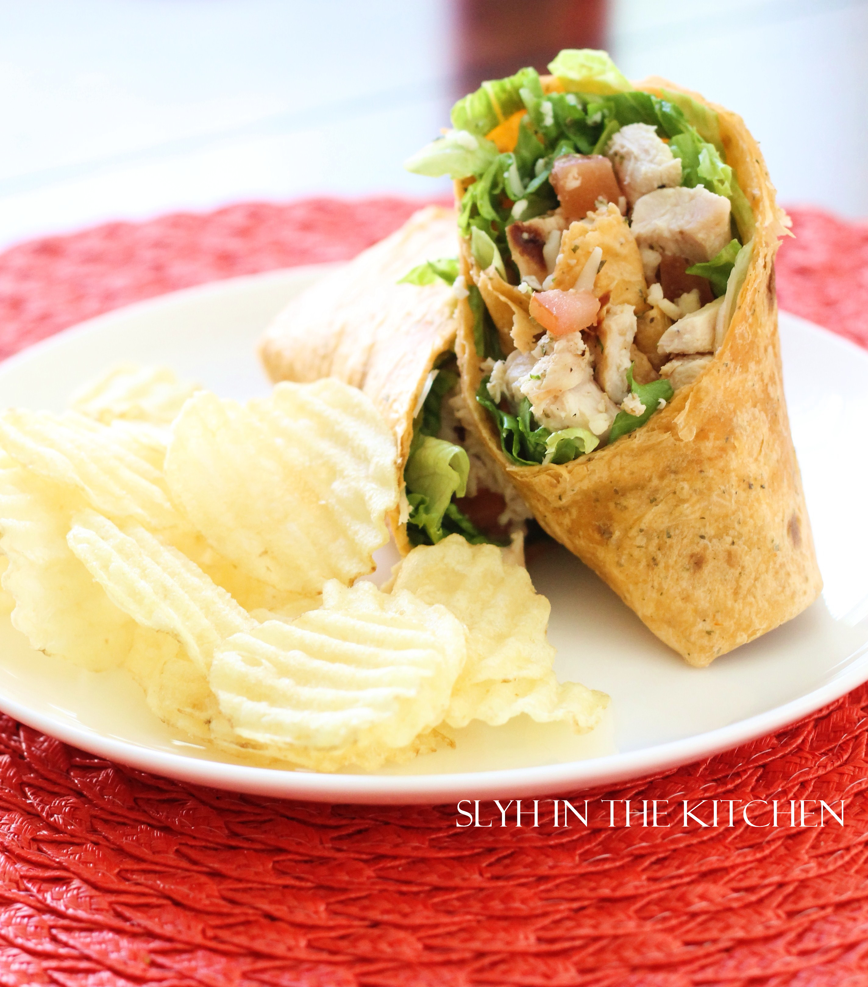 Grilled Italian Chicken Wraps Slyh In The Kitchen